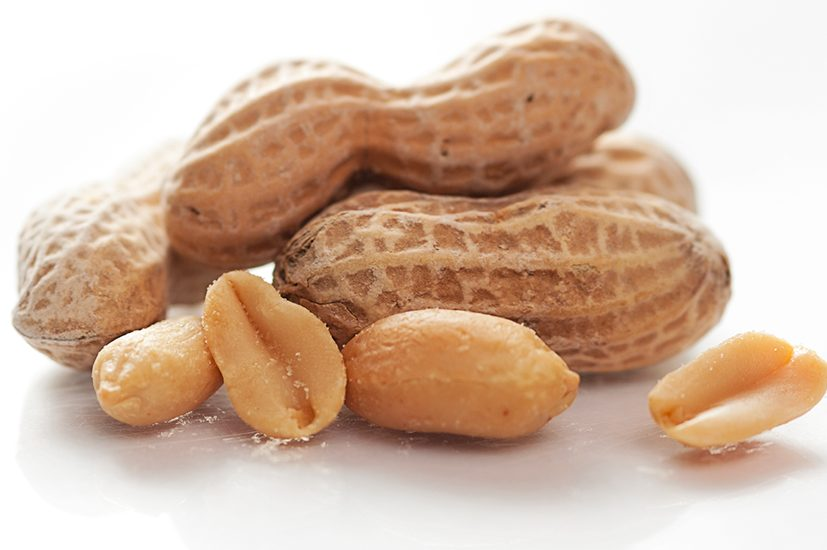 Infection of peanuts and eggs reduces the risk of food allergies